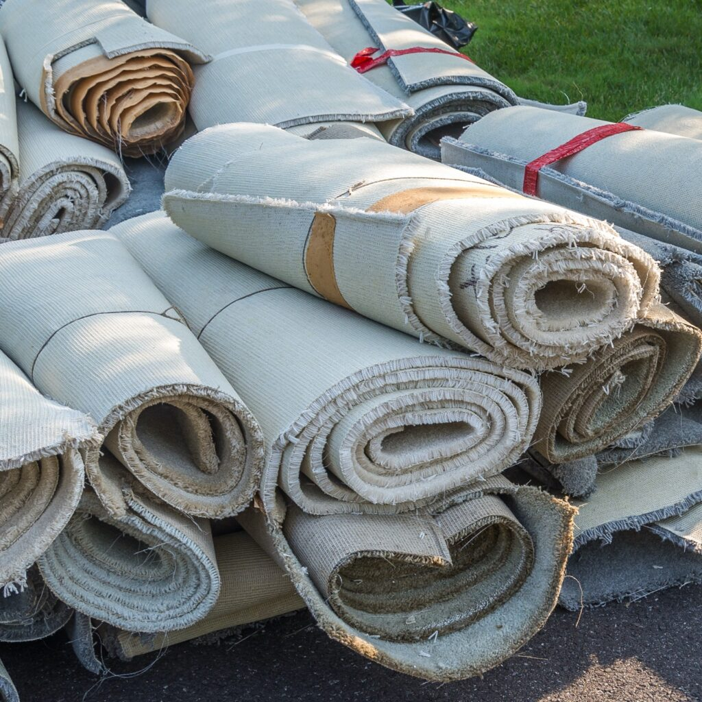 Carpet recycling.