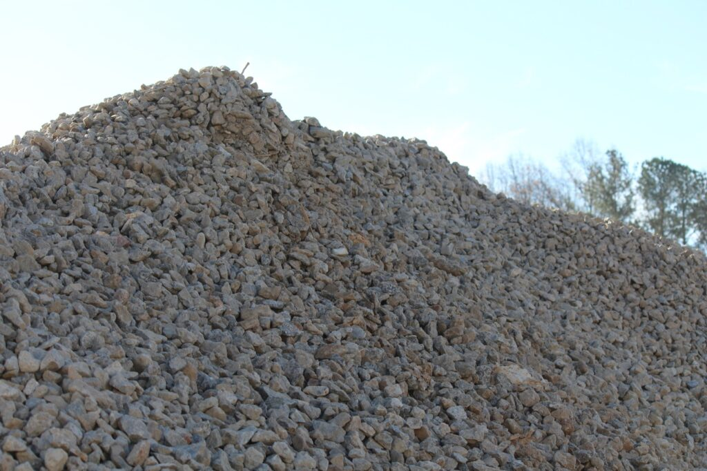 Recycled concrete #57 is a great product for landscaping and environmental projects.