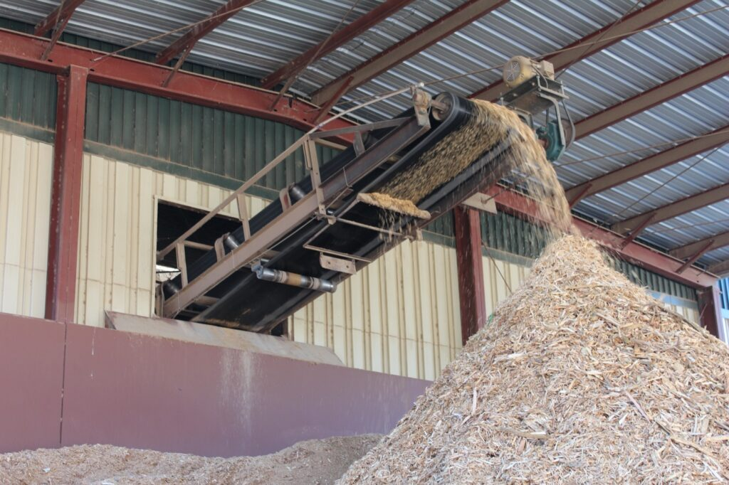 Recycled wood mulch has many applications for Atlanta industry and construction.