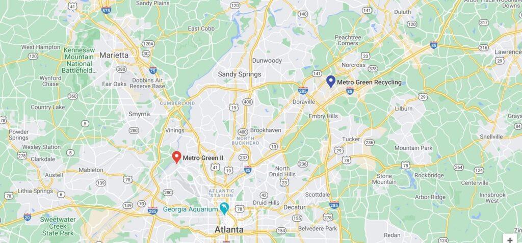 Metro Green Locations